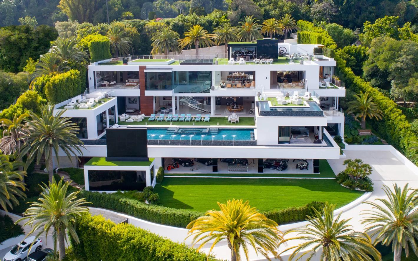 Foto Di Ville Lussuose la casa più costosa d'america venduta per 95 milioni di