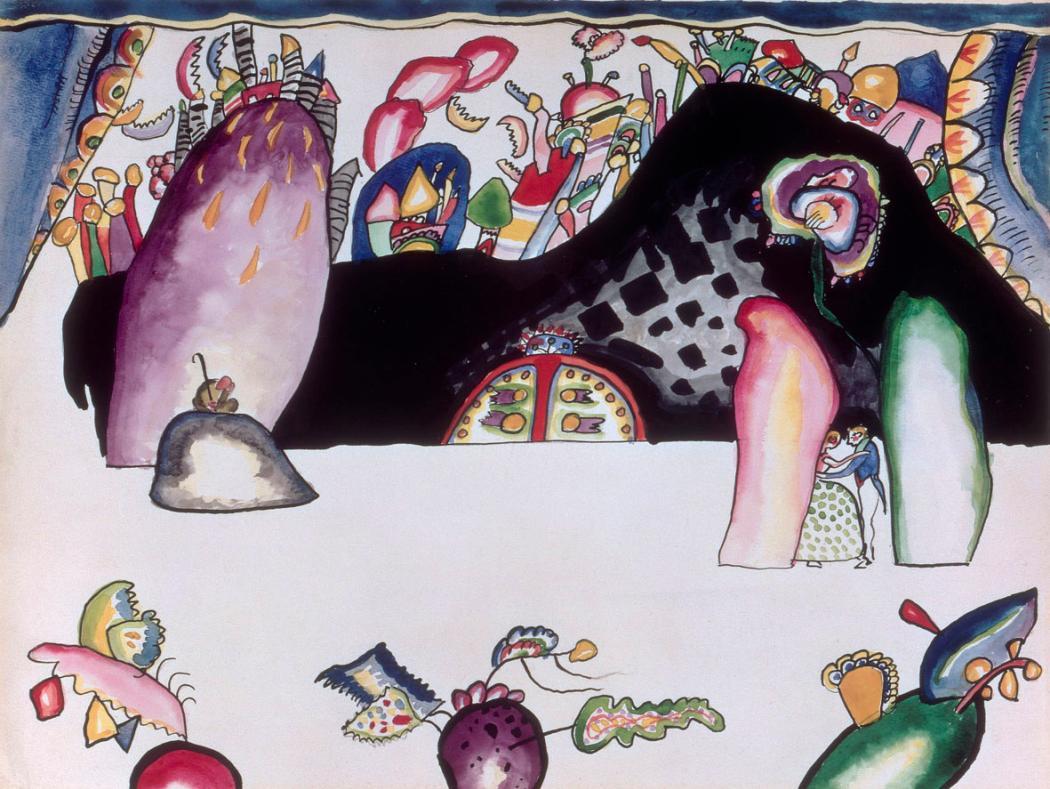 Kandinsky cage musica e spirituale nell arte foto 1 di for Kandinsky reggio emilia