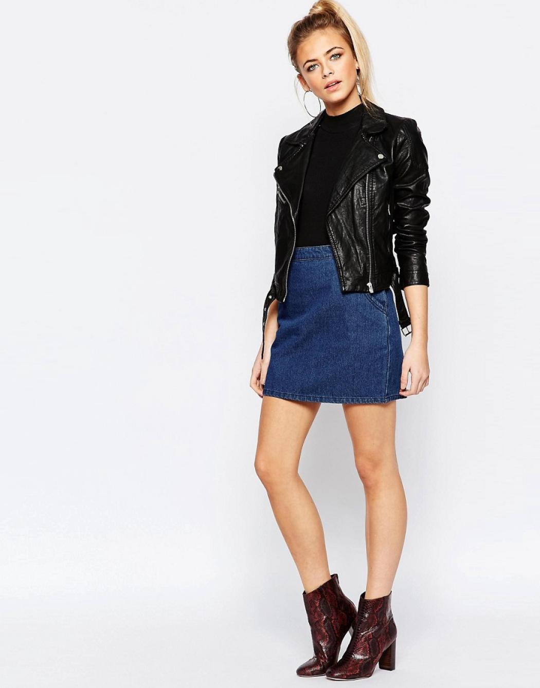 97bf30b17f4e Come indossare la gonna di jeans - Radio Monte Carlo