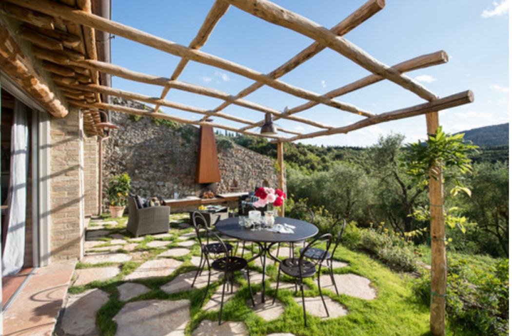La casa rurale in toscana ideale per le vacanze radio for La casa toscana tradizionale