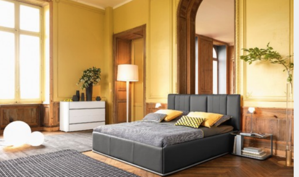 Camera Da Letto Usata In Pino : Giallo viola o ecco i colori ideali per la camera da letto