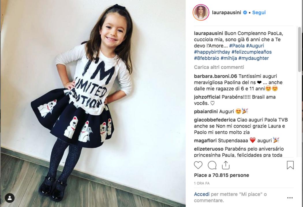 Laura Pausini Gli Auguri Di Compleanno Alla Figlia Paola Radio