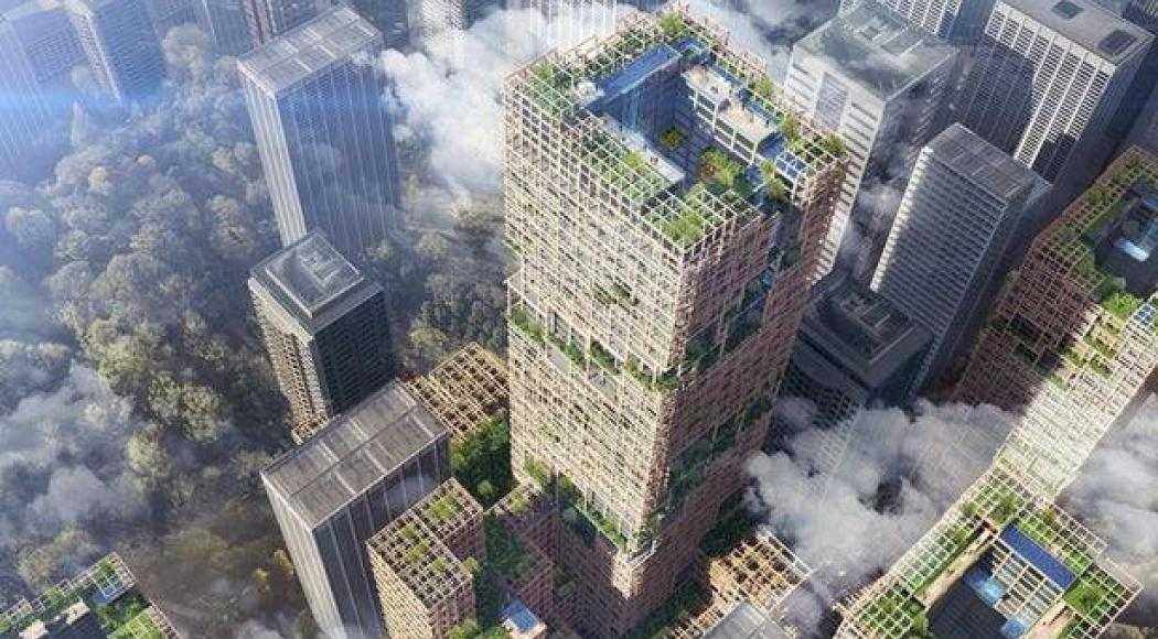 Il grattacielo in legno più alto del mondo sorgerà a Tokyo