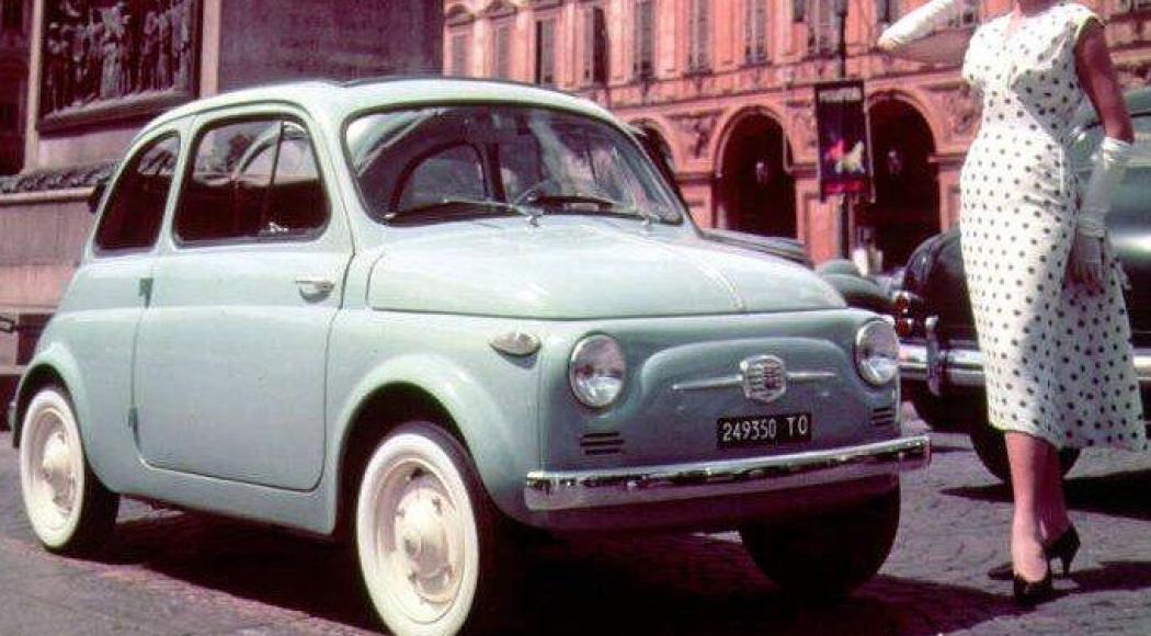La Fiat 500 compie 61 anni!