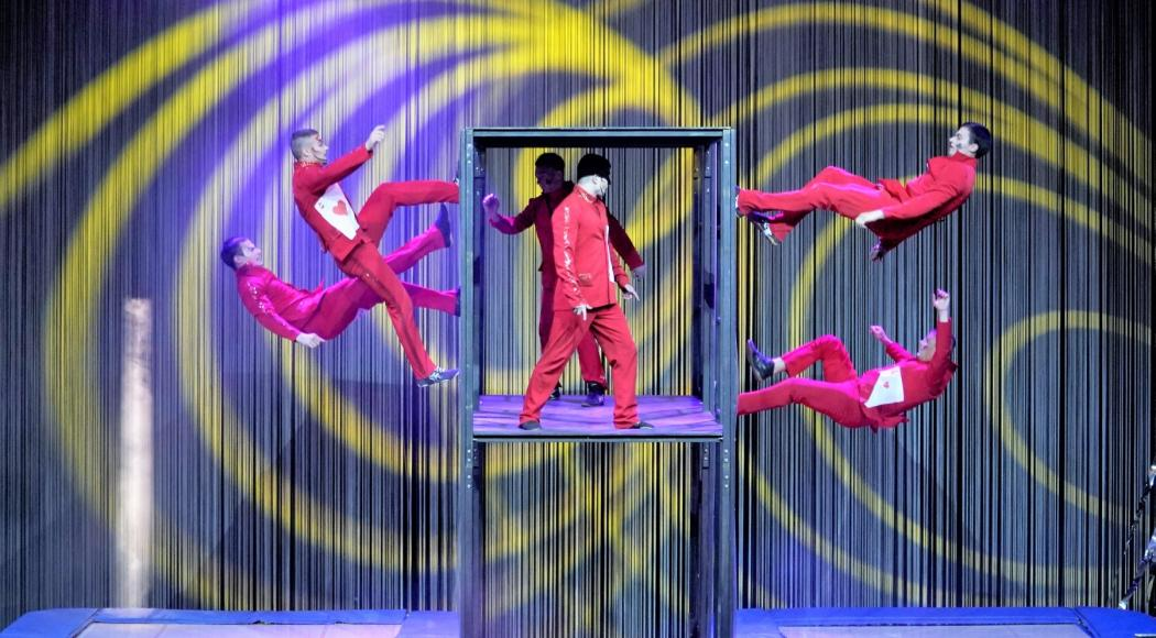 A grande richiesta torna in scena Alis, tra le meraviglie del Cirque Du Soleil e del Noveau Cirque