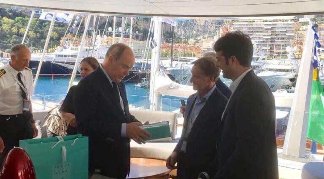 Acqua dell'Elba al Monaco Yacht Show