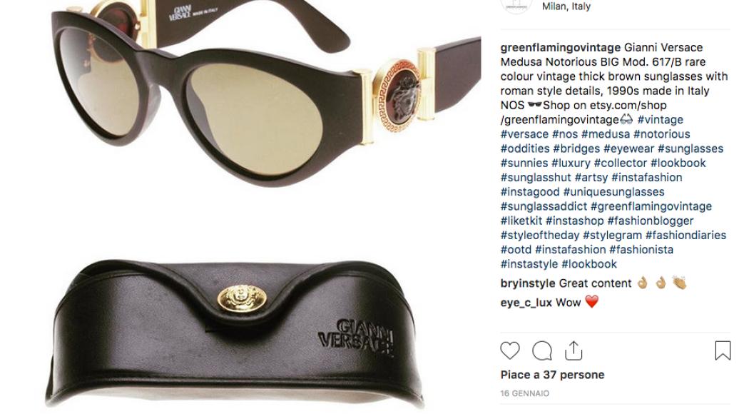 Versace: tornano disponibili gli occhiali resi celebri da Notorious B.I.G.