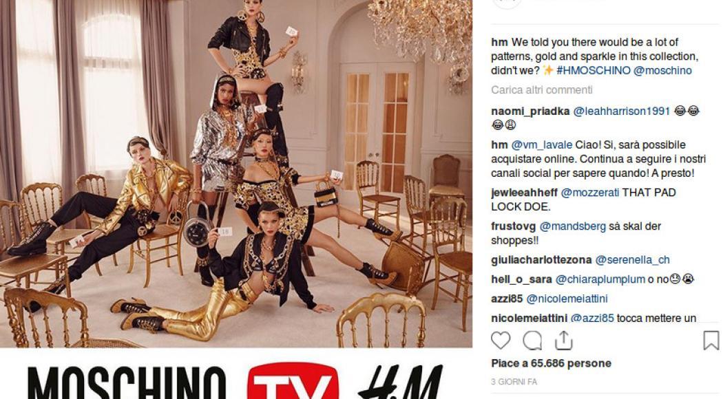 Moschino sbarca da H&M