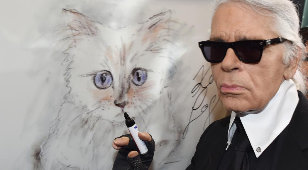 Karl Lagerfeld: l'eredità alla gatta Choupette?