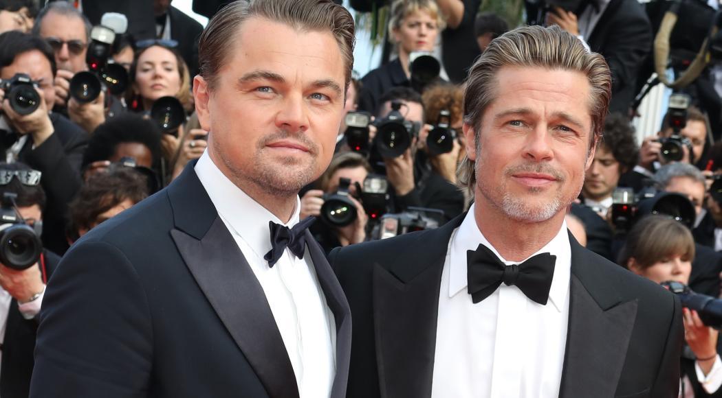 Leonardo DiCaprio e Brad Pitt: la coppia più bella sul red carpet di Cannes