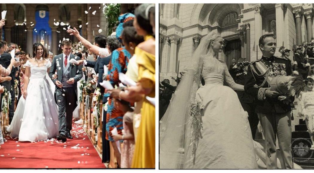 Nozze a Monte Carlo: Louis Ducruet si sposa nella stessa chiesa dove Grace Kelly sposò il Principe Ranieri