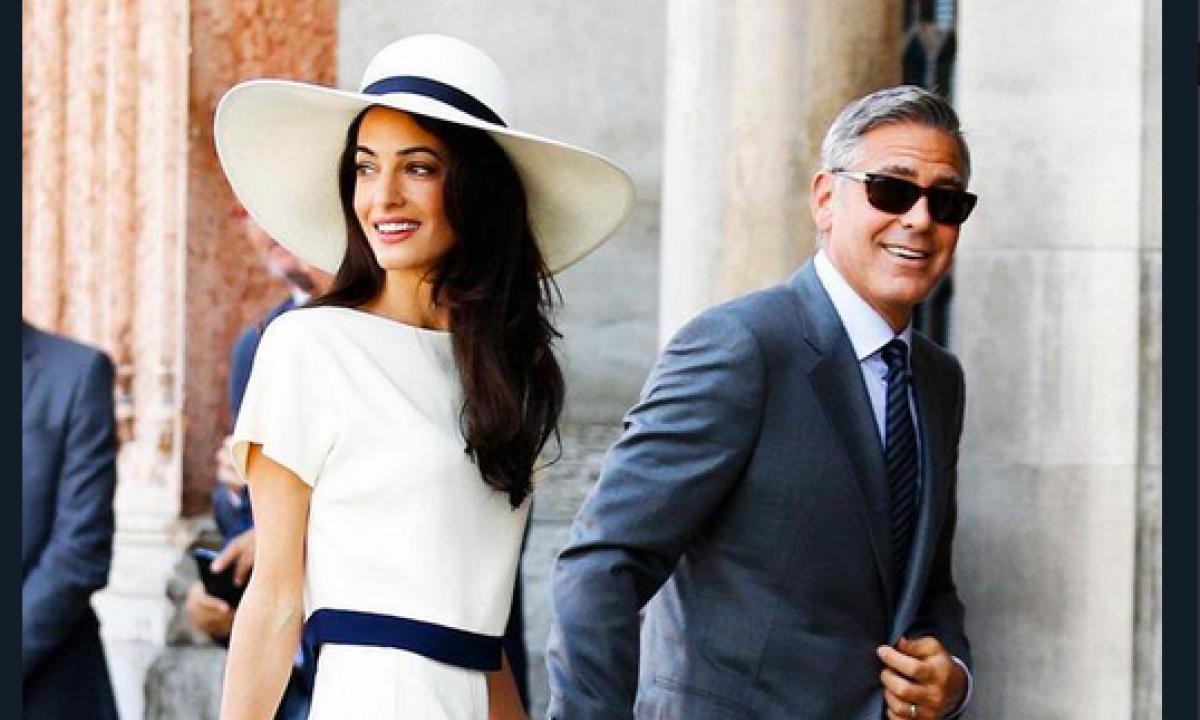 George Clooney e Amal: ecco come ci siamo conosciuti! - Radio ...