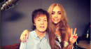 Paul McCartney in studio con Lady Gaga