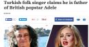 Adele figlia di un tassista turco?