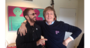 Paul McCartney e Ringo Starr insieme in studio
