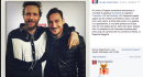 Anche Jovanotti saluta Totti : scopri il post!