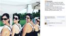 Laura Pausini conquista il web con il suo nuoto sincronizzato