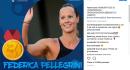 Federica Pellegrini conquista l'oro ai Mondiali di nuoto!