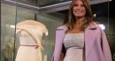 Il primo abito da First Lady di Melania Trump esposto allo Smithsonian