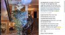 Ecco svelato l'albero di Natale di Karl Lagerfeld!