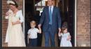 Il piccolo George come il Principe William! Stesso look a distanza di anni