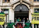 GIUSEPPE UNGHERESE Responsabile della campagna d'inquinamento Greenpeace, più di 800 mila cittadini del Veneto rischiano di bere acqua contaminata da PFAS