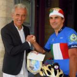 In bici 840km da Latina a Nizza per sport e solidarietà