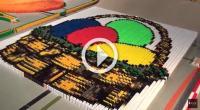 500.000 elementi per il domino da Guinness World Records