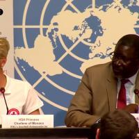 La Principessa Charlene è ambasciatrice internazionale per il primo soccorso