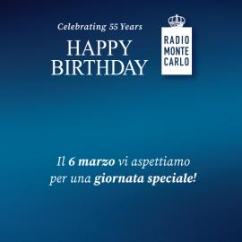 Radio Monte Carlo Buon Compleanno