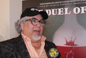 "PIERPAOLO LA ROSA dalla 73° Mostra del Cinema di Venezia, il film ""The duel of wine"" e intervista a CHARLIE ARTURAOLA"