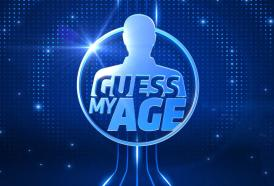 "ENRICO PAPI Presentatore di ""Guess my age"""