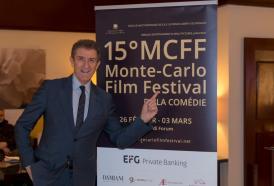 EZIO GREGGIO Ideatore del Film Festival della Comédie di Monte Carlo