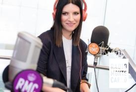 Laura Pausini ospite di RMC: le foto più belle!