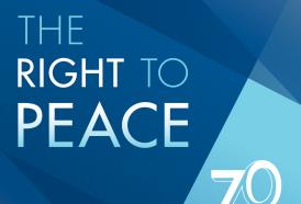 21 settembre: Giornata Internazionale della Pace