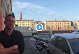 Ryan Reynolds: il video a Firenze