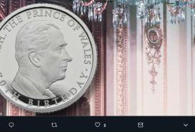 70 anni del Principe Carlo: scopri con noi la moneta commemorativa