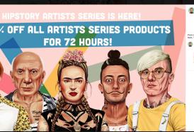 Volete vedere Frida Kahlo (e Van Gogh) in versione hipster?