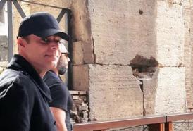 Anche Ricky Martin conquistato dal Colosseo!