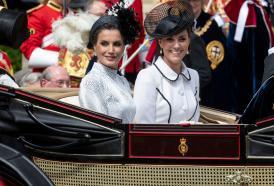 E' gara d'eleganza tra Kate Middleton e la Regina Letizia di Spagna
