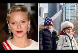 I principini di Monaco Jacques e Gabriella a New York: guarda le foto che hanno conquistato il web
