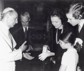 I Principi di Monaco in visita da Papa Francesco lunedì 18 gennaio