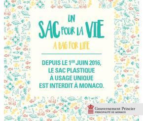 Una borsa per la vita: l'iniziativa ambientalista del Principato
