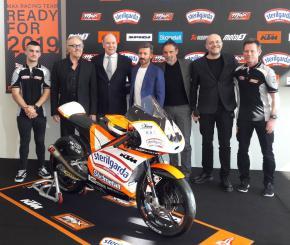 Max Biaggi a Monte Carlo:  Il mio Max Racing Team per il Mondiale Moto3