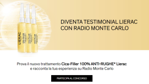 Diventa testimonial LIERAC con Radio Monte Carlo