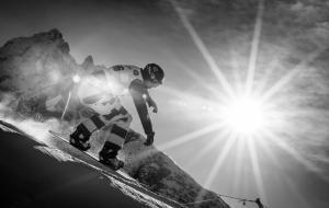 Snowboardcross a Cortina