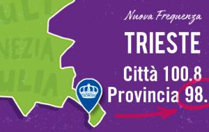A Trieste RMC cambia frequenza!