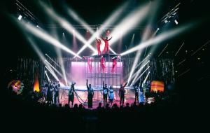 Le stelle mondiali del circo moderno per la prima volta insieme