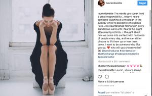 La ballerina che insegna ad avere coraggio. In scena e nella vita