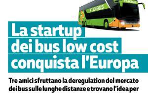 Arriva FlixBus, il bus low cost di successo
